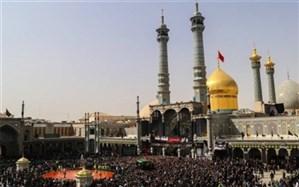 مراسم عاشورا درحرم حضرت عبدالعظیم برگزار شد