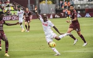 لیگ یک فرانسه؛ موناکو اولین برد فصل را جشن گرفت