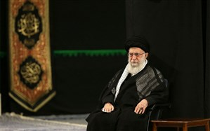 مراسم عزاداری شام غریبان با حضور رهبر معظم انقلاب اسلامی برگزار شد