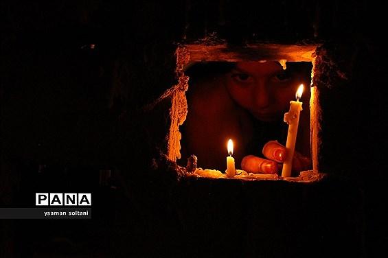 مراسم شام غریبان در یزد