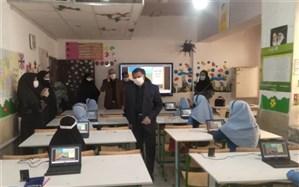 مانور بازگشایی مدارس در سیستان و بلوچستان برگزار شد