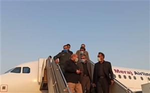 رییس مجلس شورای اسلامی وارد خوزستان شد