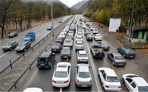 تردد در محورهای برون استانی ۰.۶ درصدکاهش یافت