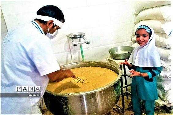 تصاویر فعالیتهای مهارت محور دانشآموزان آباده در ایام  تعطیلات  تابستان