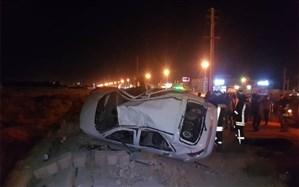تصادف مرگبار دو خودرو در جاده گویم