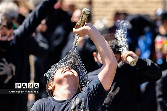 عزاداری سومین روز شهادت شهدای کربلا در محلات ارومیه