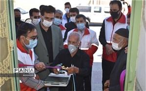 نخستین خانه هلال شهرستان بهاباد دراحمد آباد افتتاح شد