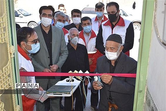 افتتاح نخستین خانه هلال شهرستان بهاباد دراحمد آباد