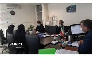 جلسه کمیته ی مدیریت فوریت های روانی اجتماعی  منطقه ۱۳ جهت مشکلات دانش آموزان