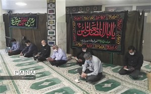 شور و نوای حسینی در منطقه چهار
