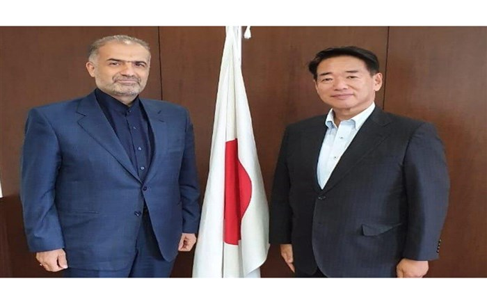 رایزنی ایران و ژاپن