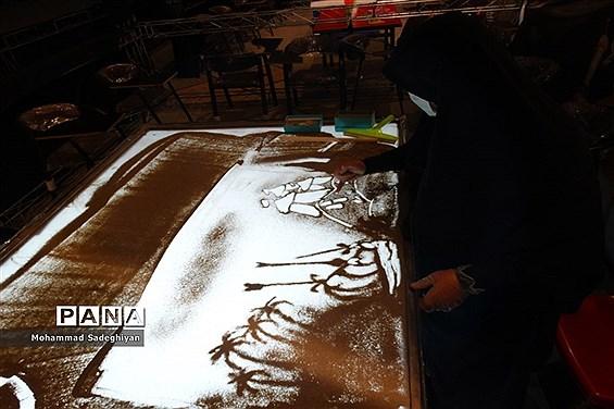 برگزاری مراسم غنچه های حسینی در کانون فرهنگی تربیتی آفتاب منطقه19