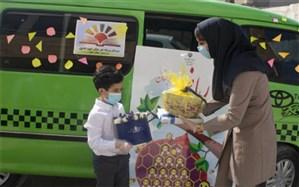 جشن شکوفه ها در دبستان شهید فخرایی بوشهر برگزار شد