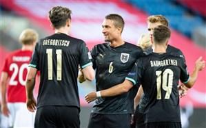لیگ ملتهای اروپا؛ اتریش و چک کورس صعود را استارت زدند