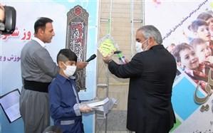 آیین نمادین بازگشایی مدارس استان در دبستان دکتر فانی سنندج برگزار شد