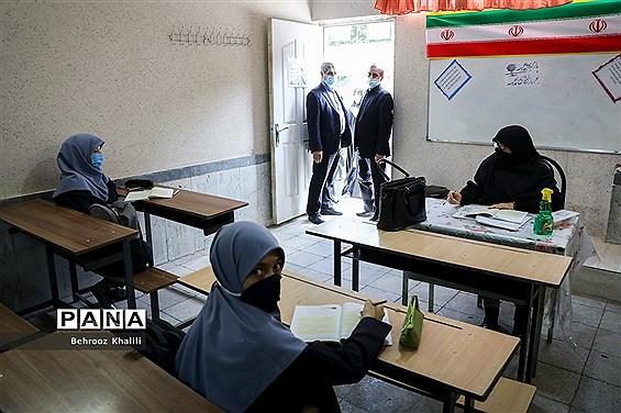 بازدید سرزده معاون تربیت بدنی و سلامت وزارت آموزش و پرورش از مدارس شهر تهران