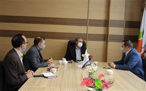 نشست قائم مقام معاون وزیر در سازمان دانش آموزی با مدیر کل آموزش و پرورش اردبیل