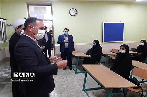 آیین بازگشایی مدارس در شهرستان شوش
