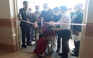 افتتاح مدرسه ۱۰ کلاسه و کلنگ زنی مدرسه ۷ کلاسه دانش آموزان استثنایی در سقز
