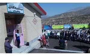 دبستان ۳ کلاسه روستای رزاب سروآباد افتتاح شد