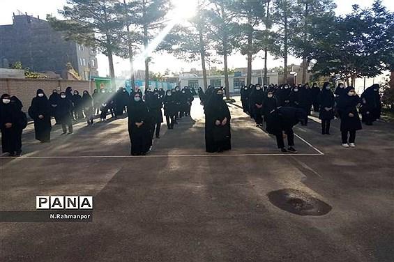 مراسم بازگشایی دبیرستان عبدالعلی بیرجندی
