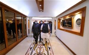 رایزنی وزرای دفاع ایران و هند درباره موضوعات دوجانبه