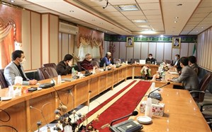 جلسه کمیته استانی راه اندازی پایگاه های انتخاب رشته کنکور دانش آموزان سال 99اردبیل