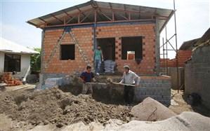 پیشرفت 80 درصدی ساخت مسکن روستایی در بعضی از روستاها