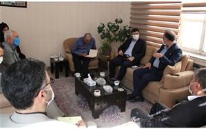 برگزاری جلسه هماهنگی تفاهم نامه ایجاد نمایشگاه دائمی سازمان دانش آموزی آذربایجان شرقی وشرکت صنایع آموزشی