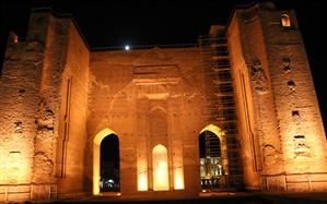 درخشش دو گوهر گرانبهای تبریز با نورپردازی متناسب با هویت و معماری اصیل ایرانی