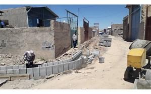 اجرای همزمان چندین پروژه هدایت آبهای سطحی در منطقه ۶ تبریز