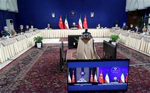 روحانی: برای غلبه بر توطئه دشمنان راهی جز تقویت همکاری ها نداریم