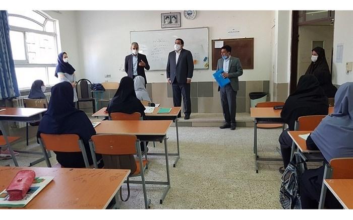 بازدید معاون تربیت بدنی و سلامت آموزش و پرورش گلستان از مدارس بندرترکمن
