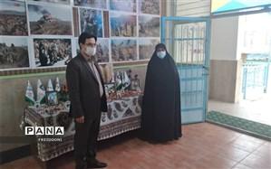 بازدید مدیر کل ارزیابی عملکرد وزارت آموزش و پرورش از مدارس منطقه چهار