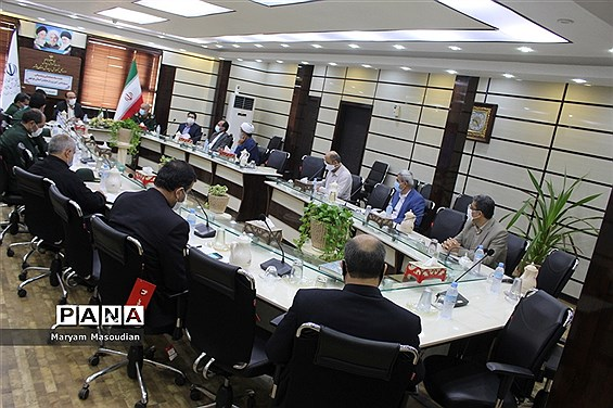 جلسه ستاد هماهنگی و پشتیبانی بسیج دانش آموزی و فرهنگیان استان بوشهر