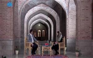 تهیه برنامه تلویزیونی فیروزه در محوطه تاریخی فیروزه جهان اسلام