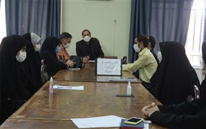 جلسه تخصصی مشاوران مرکز مشاوره آموزش و پرورش ناحیه یک همدان برگزار شد