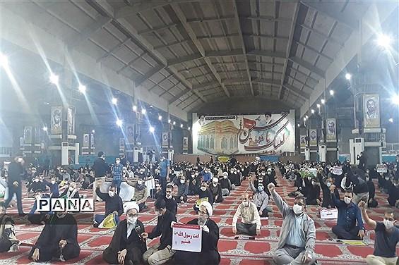 تجمع اعتراضی مردم اهواز درمحکومیت اهانت به پیامبر اکرم (ص)