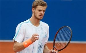 تنیس اوپن اتریش؛ دوئل ژرمنها هانفمن را به نیمه نهایی رساند