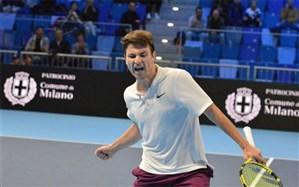تنیس اوپن اتریش؛ ککمانوویچ با جنگ نفسگیر به نیمه نهایی رسید