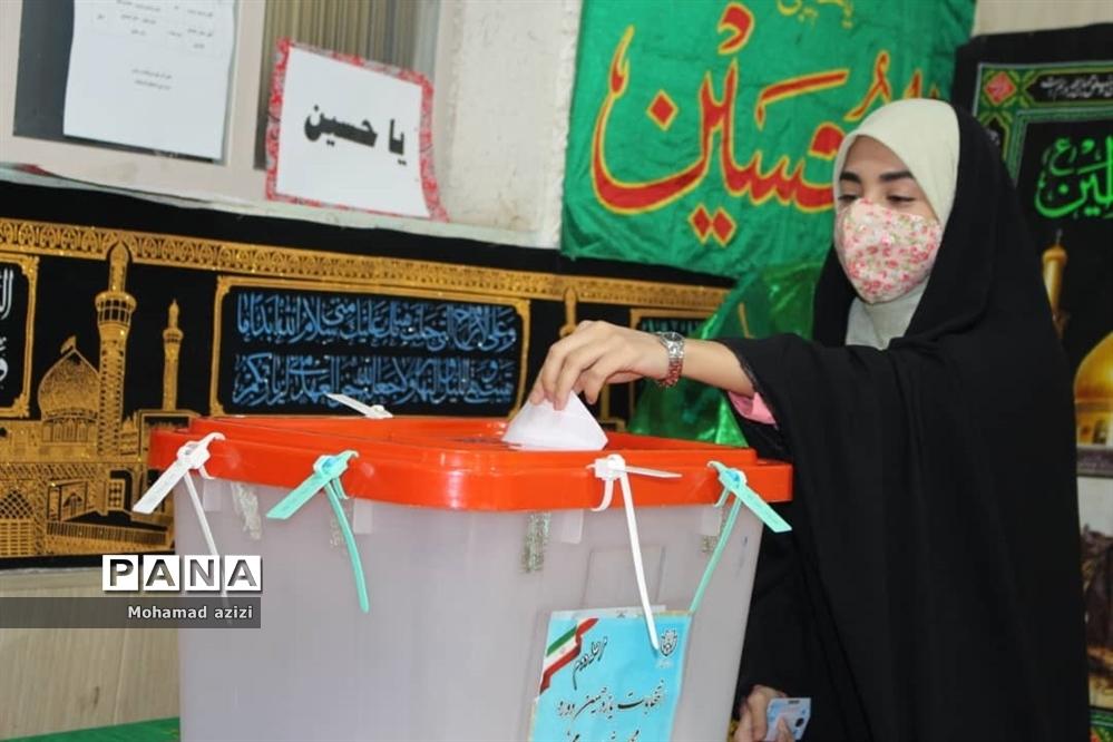حضور مردم در دور دوم انتخابات مجلس یازدهم
