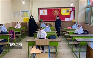 بازدیدهای مینو زمان از روند شروع به کار مدارس منطقه8