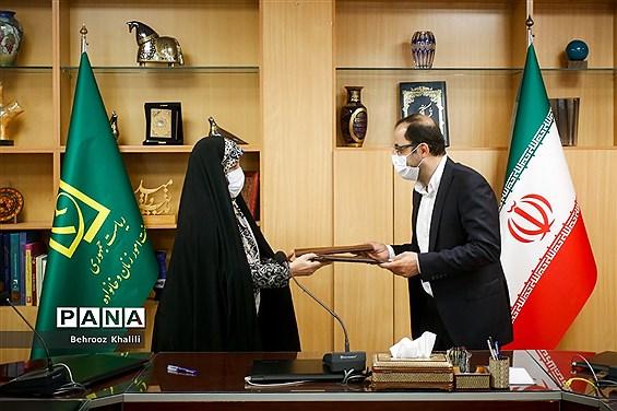 امضای تفاهمنامه کانون پرورشی فکری کودکان و نوجوانان با معاونت ریاست جمهوری در امور زنان و خانواده