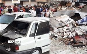 خسارت 400 میلیونی حاصل انفجار در نسیم شهر