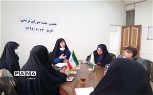 تبیین برنامه های زنگ ایثار و مقاومت در جلسه شورای تربیتی منطقه 17