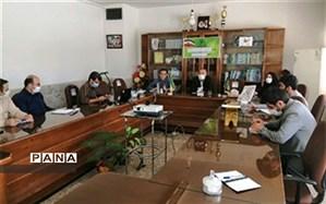 جلسه ویدئو کنفرانس در رابطه با صدور ابلاغ ها و شبکه اجتماعی شاد در شیروان برگزار شد