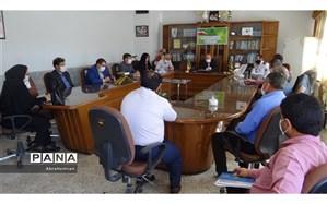 جلسه کارگروه ماده 18 سرویس حمل و نقل دانش آموزان مدارس شیروان تشکیل شد