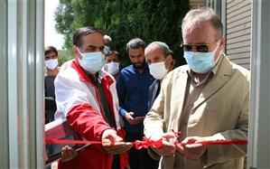 افتتاح 2 باب خانه هلال در شهرستان خدابنده