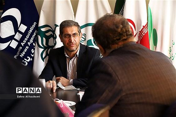 بازدید مدیر آموزش و پرورش منطقه 15 از خبرگزاری پانا شهر تهران