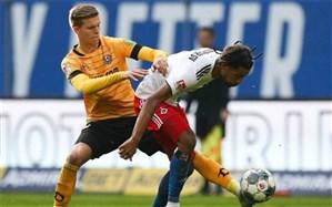 جام حذفی آلمان؛ شگفتی هامبورگ و بیلهفلد را مات کرد